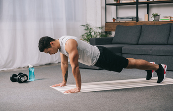 How to Stay Fit While You're Staying Home